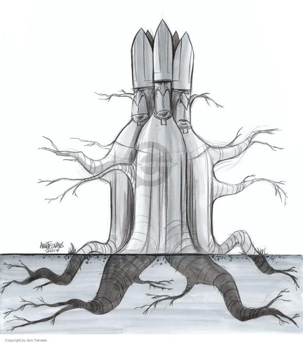 Ann Telnaes  Ann Telnaes' Editorial Cartoons 2014-10-20 religion