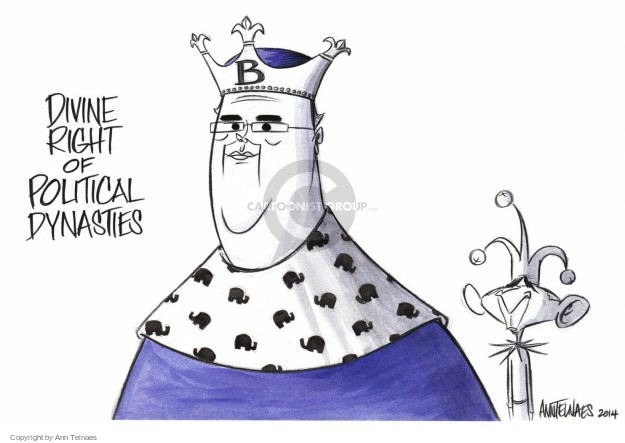 Ann Telnaes  Ann Telnaes' Editorial Cartoons 2014-10-30 dynasty