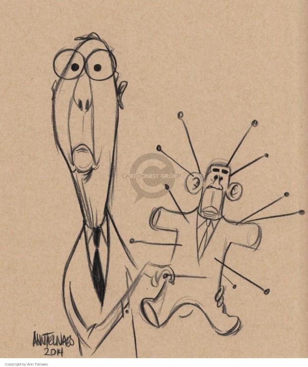 Ann Telnaes  Ann Telnaes' Editorial Cartoons 2014-11-06 black