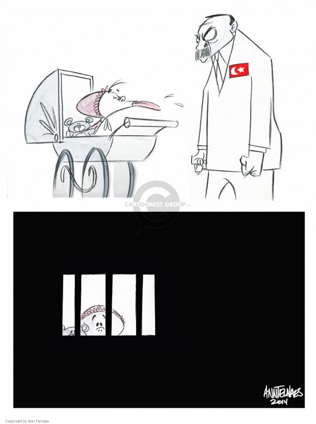 Ann Telnaes  Ann Telnaes' Editorial Cartoons 2014-12-29 jail