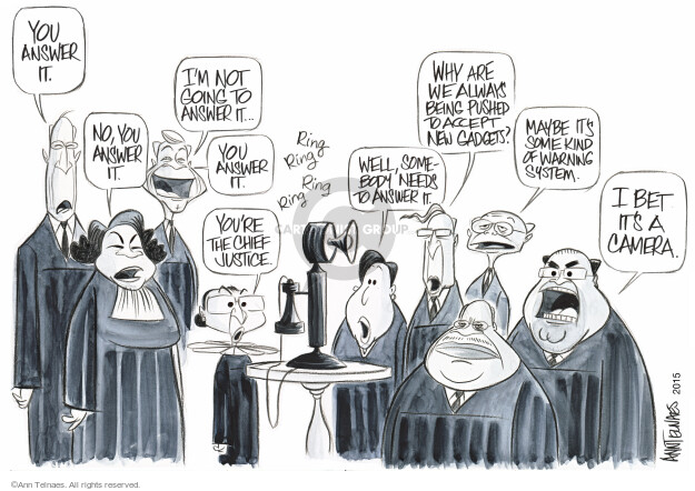 Ann Telnaes  Ann Telnaes' Editorial Cartoons 2015-01-02 Elena Kagan
