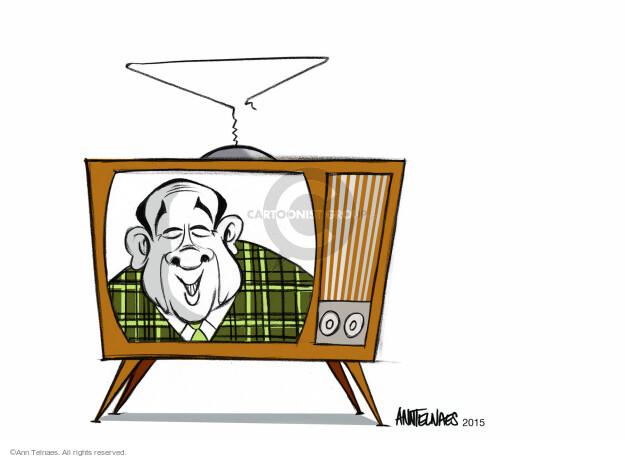 Cartoonist Ann Telnaes  Ann Telnaes' Editorial Cartoons 2015-01-05 Mike Huckabee