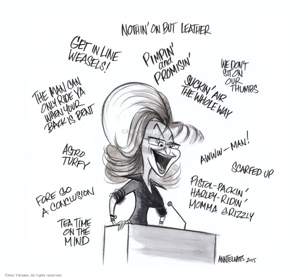 Cartoonist Ann Telnaes  Ann Telnaes' Editorial Cartoons 2015-01-26 address