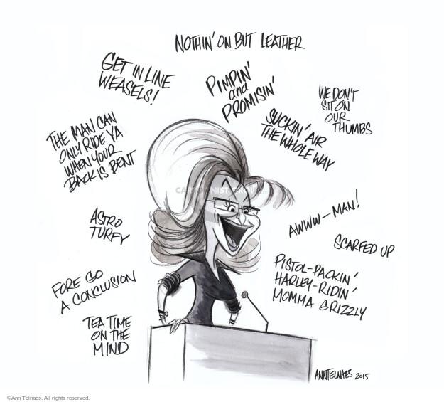 Ann Telnaes  Ann Telnaes' Editorial Cartoons 2015-01-26 line