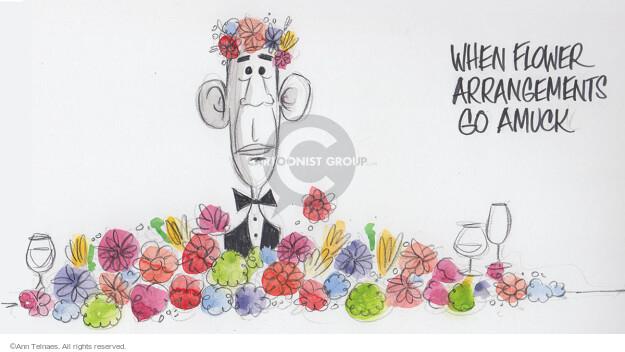 Ann Telnaes  Ann Telnaes' Editorial Cartoons 2015-04-27 flower bouquet