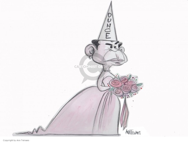 Ann Telnaes  Ann Telnaes' Editorial Cartoons 2015-04-28 remark