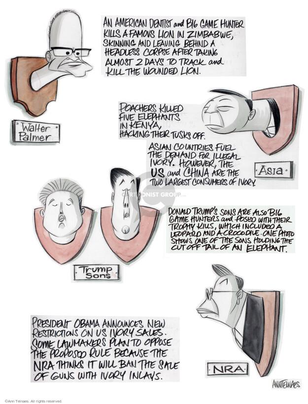 Cartoonist Ann Telnaes  Ann Telnaes' Editorial Cartoons 2015-07-30 track
