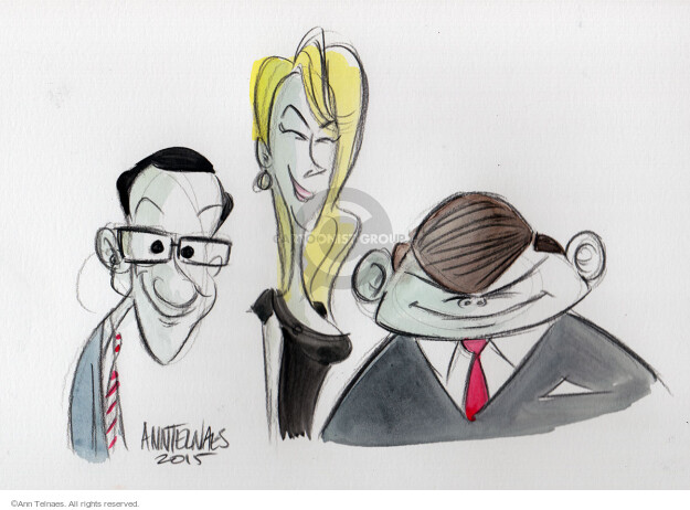 Cartoonist Ann Telnaes  Ann Telnaes' Editorial Cartoons 2015-08-07 debate