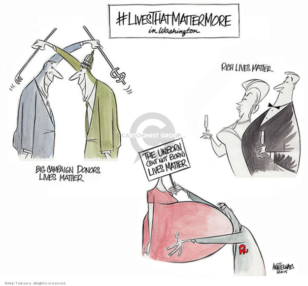 Ann Telnaes  Ann Telnaes' Editorial Cartoons 2015-08-11 finance