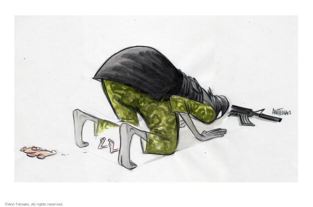 Cartoonist Ann Telnaes  Ann Telnaes' Editorial Cartoons 2015-08-13 violent