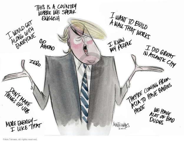 Ann Telnaes  Ann Telnaes' Editorial Cartoons 2015-09-17 remark