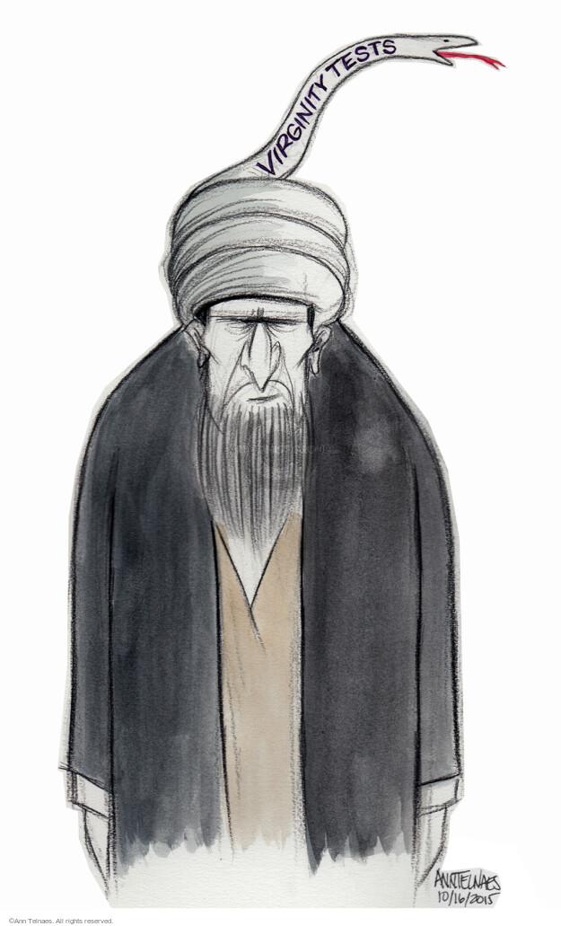 Ann Telnaes  Ann Telnaes' Editorial Cartoons 2015-10-16 religion