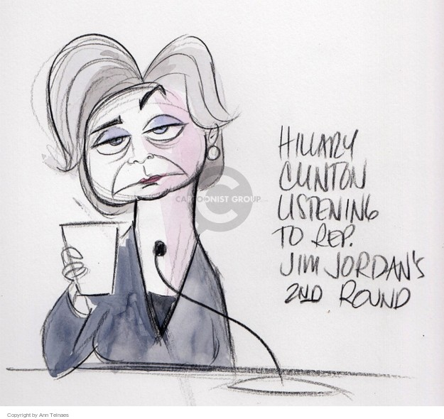 Cartoonist Ann Telnaes  Ann Telnaes' Editorial Cartoons 2015-10-23 democrat