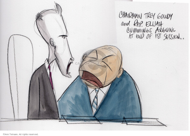 Cartoonist Ann Telnaes  Ann Telnaes' Editorial Cartoons 2015-10-23 democratic