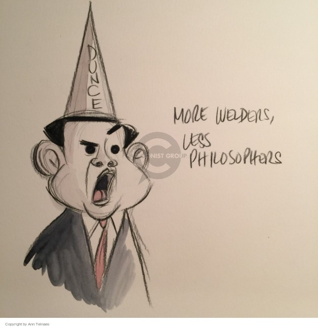 Ann Telnaes  Ann Telnaes' Editorial Cartoons 2015-11-11 economy