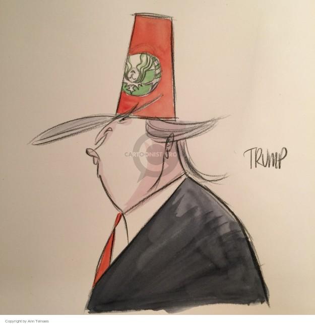 Ann Telnaes  Ann Telnaes' Editorial Cartoons 2015-11-11 hat