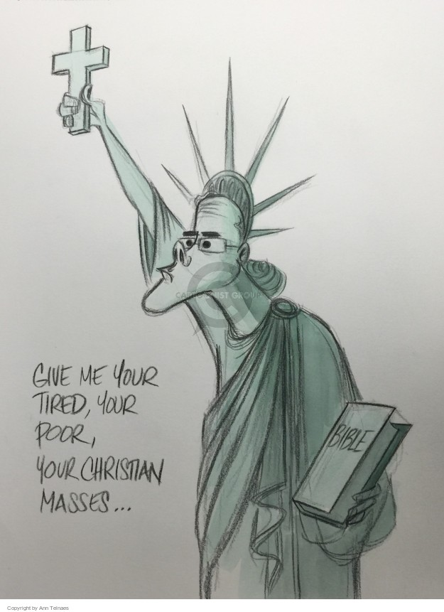 Ann Telnaes  Ann Telnaes' Editorial Cartoons 2015-11-18 bush