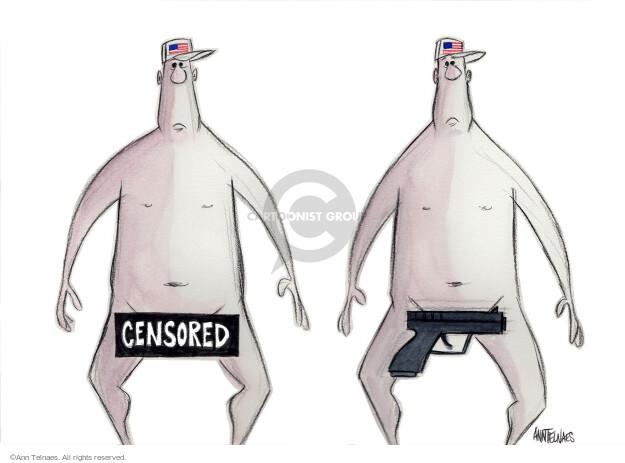 Cartoonist Ann Telnaes  Ann Telnaes' Editorial Cartoons 2015-12-04 crime