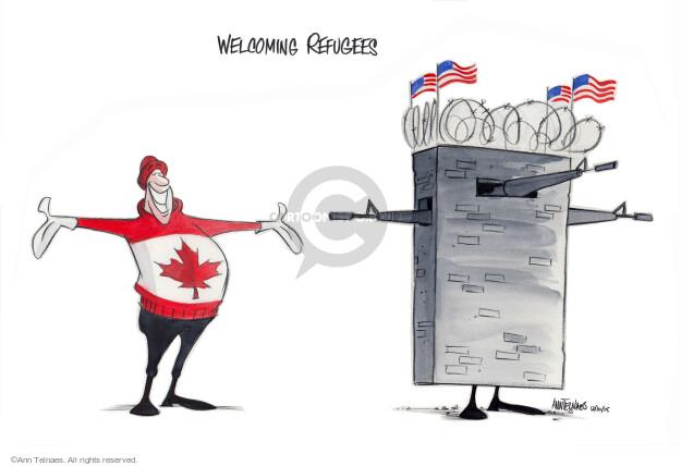 Cartoonist Ann Telnaes  Ann Telnaes' Editorial Cartoons 2015-12-11 emigration