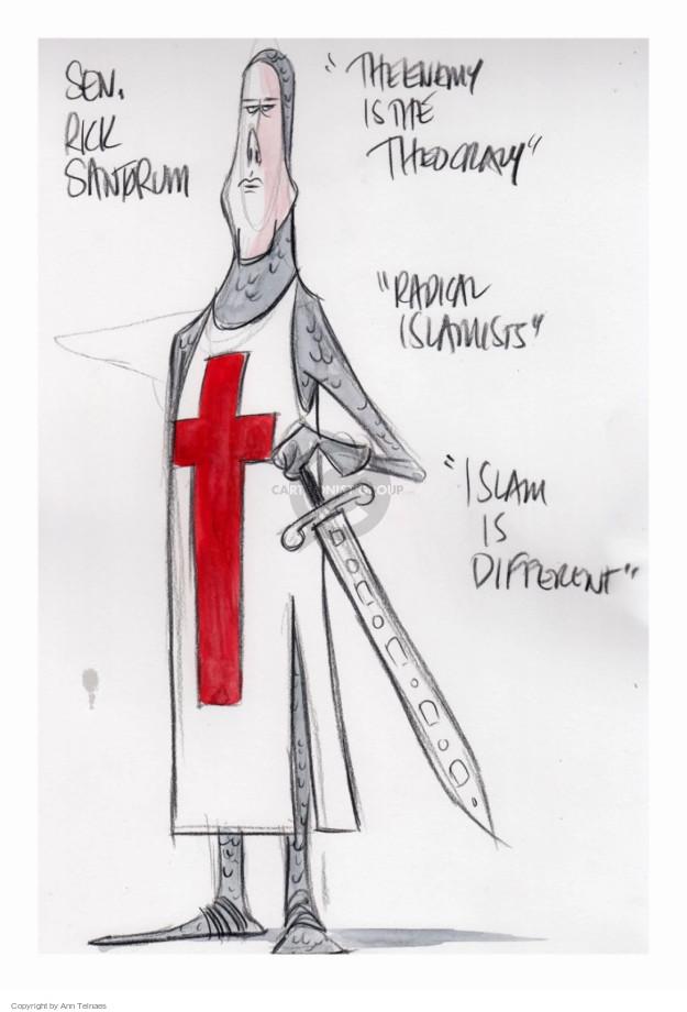 Cartoonist Ann Telnaes  Ann Telnaes' Editorial Cartoons 2015-12-16 political debate