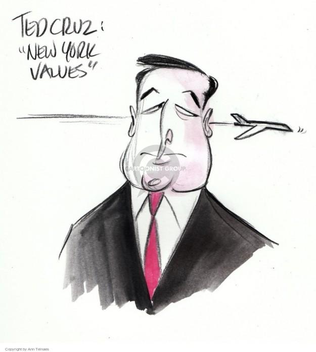 Cartoonist Ann Telnaes  Ann Telnaes' Editorial Cartoons 2016-01-15 political debate