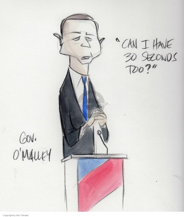 Cartoonist Ann Telnaes  Ann Telnaes' Editorial Cartoons 2016-01-18 candidates democrats