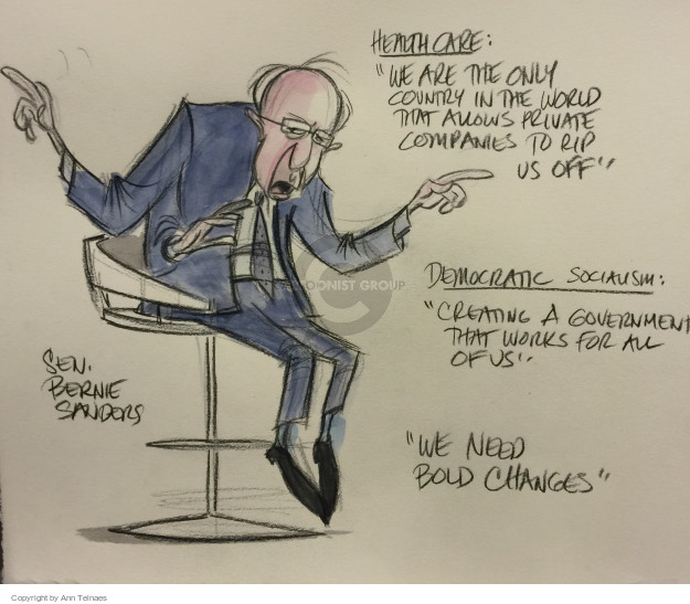 Ann Telnaes  Ann Telnaes' Editorial Cartoons 2016-01-25 need