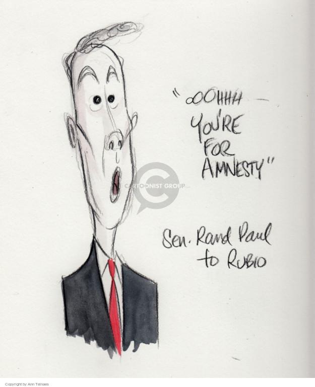 Ann Telnaes  Ann Telnaes' Editorial Cartoons 2016-01-28 2016 election Marco Rubio