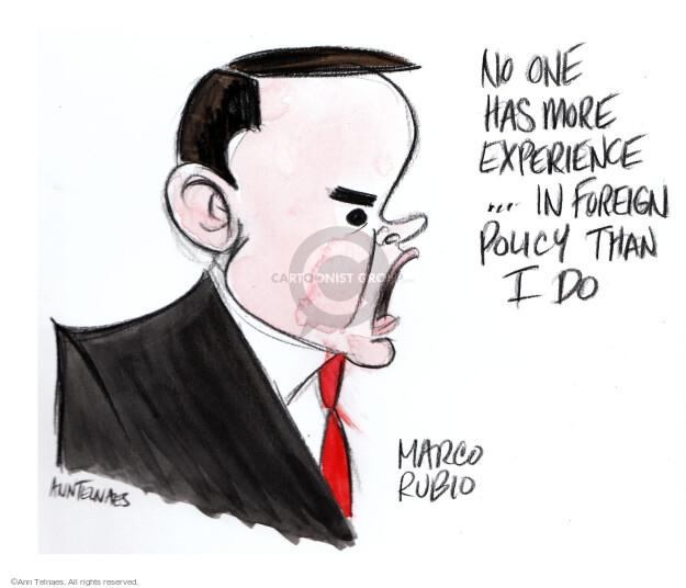 Ann Telnaes  Ann Telnaes' Editorial Cartoons 2016-02-18 2016 election