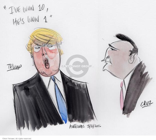 Ann Telnaes  Ann Telnaes' Editorial Cartoons 2016-03-04 2016 election