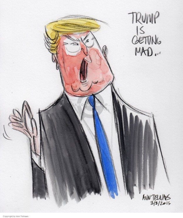 Cartoonist Ann Telnaes  Ann Telnaes' Editorial Cartoons 2016-03-04 body language