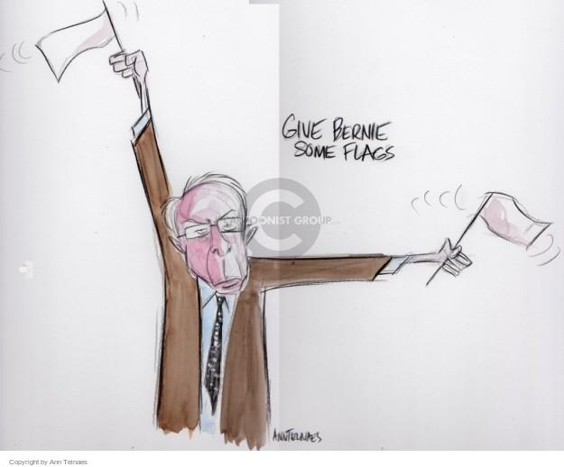 Cartoonist Ann Telnaes  Ann Telnaes' Editorial Cartoons 2016-03-09 candidates democrats