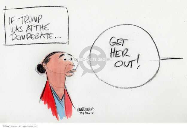 Ann Telnaes  Ann Telnaes' Editorial Cartoons 2016-03-09 racism