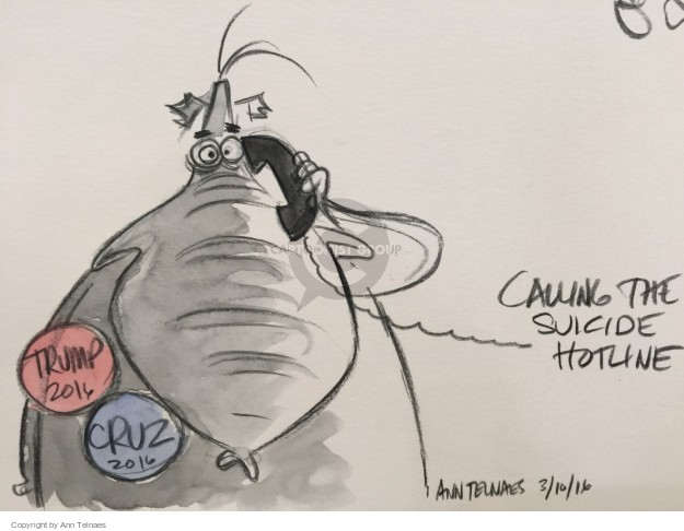 Ann Telnaes  Ann Telnaes' Editorial Cartoons 2016-03-10 option