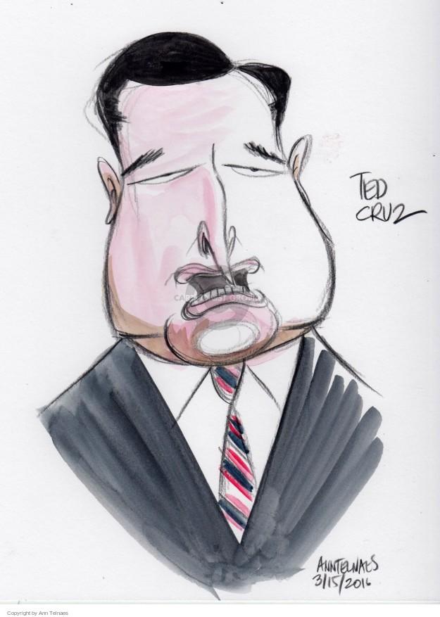 Ann Telnaes  Ann Telnaes' Editorial Cartoons 2016-03-16 2016 election