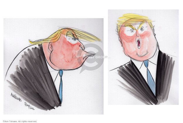 Cartoonist Ann Telnaes  Ann Telnaes' Editorial Cartoons 2016-03-29 body language