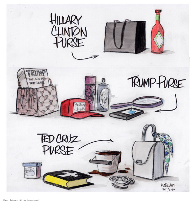 Cartoonist Ann Telnaes  Ann Telnaes' Editorial Cartoons 2016-04-21 manufacture