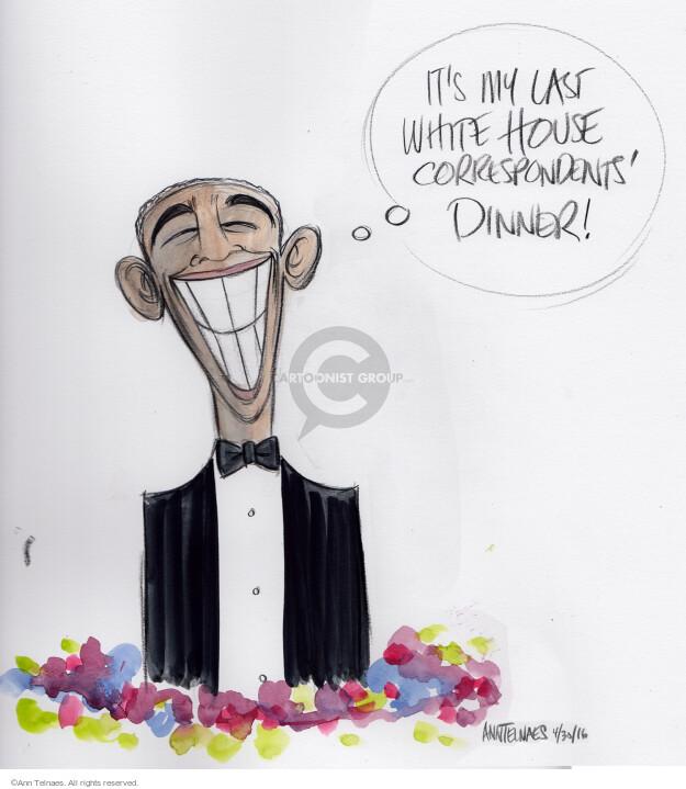 Ann Telnaes  Ann Telnaes' Editorial Cartoons 2016-05-01 Barack Obama