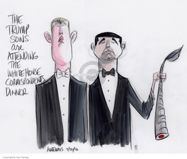 Ann Telnaes  Ann Telnaes' Editorial Cartoons 2016-05-01 2016 election