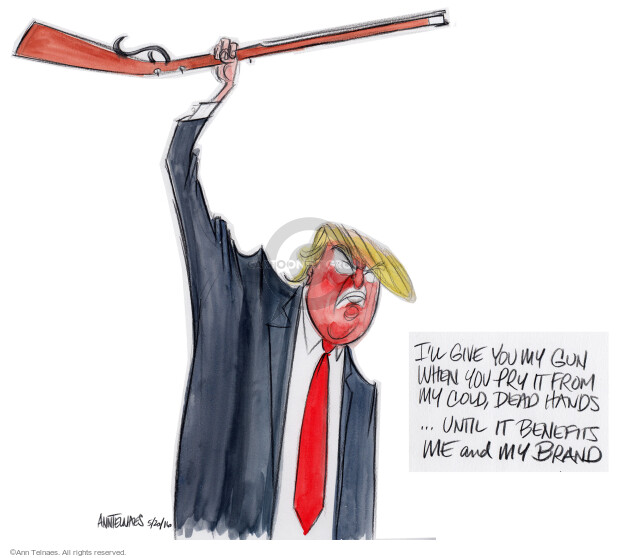 Ann Telnaes  Ann Telnaes' Editorial Cartoons 2016-05-20 dead