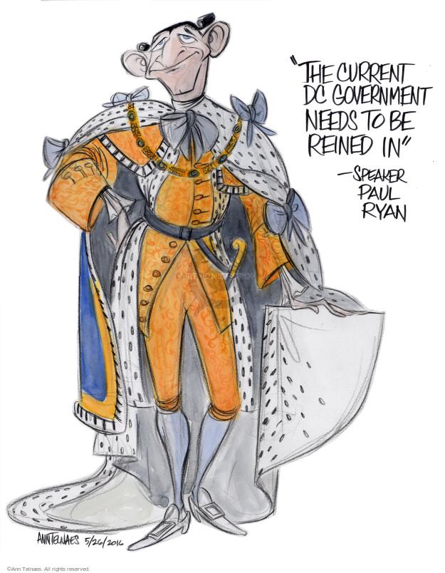 Cartoonist Ann Telnaes  Ann Telnaes' Editorial Cartoons 2016-05-26 democracy