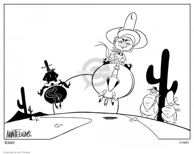 Ann Telnaes  Ann Telnaes' Editorial Cartoons 2001-01-13 2000