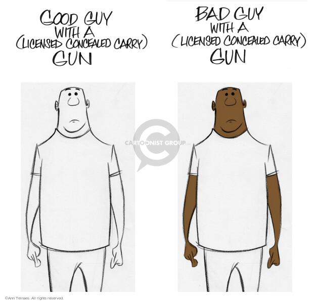 Ann Telnaes  Ann Telnaes' Editorial Cartoons 2016-07-08 racial
