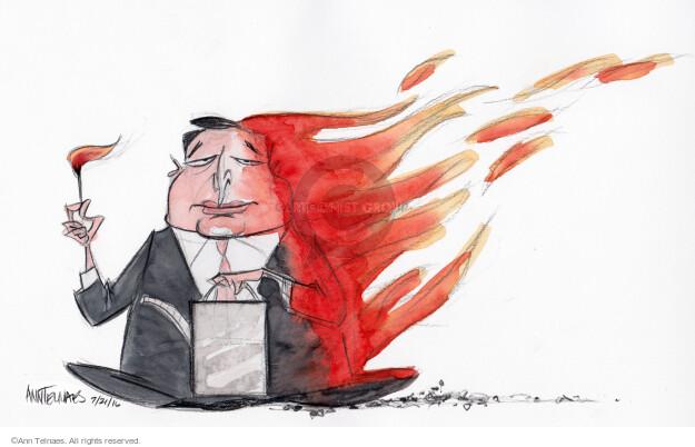 Ann Telnaes  Ann Telnaes' Editorial Cartoons 2016-07-20 2016 Election Ted Cruz
