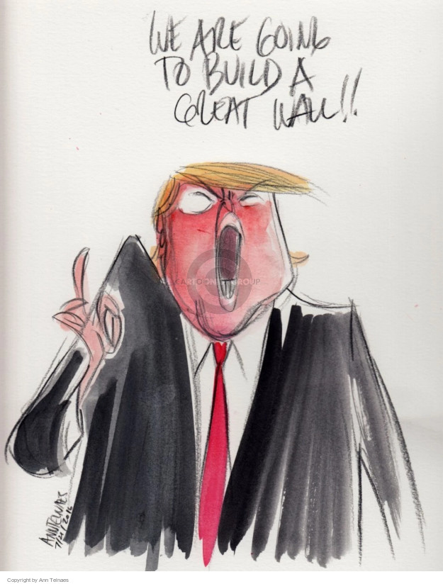 Ann Telnaes  Ann Telnaes' Editorial Cartoons 2016-07-22 republican convention