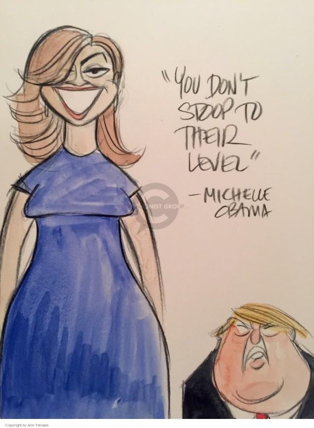 Ann Telnaes  Ann Telnaes' Editorial Cartoons 2016-07-26 2016 election