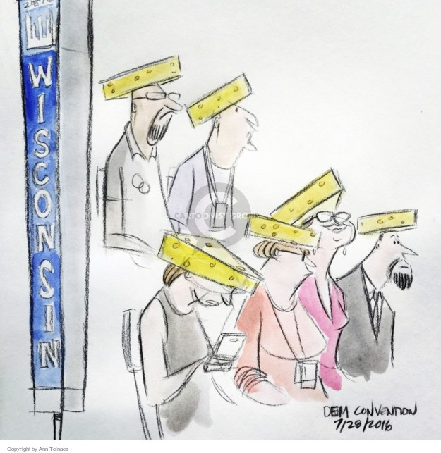 Ann Telnaes  Ann Telnaes' Editorial Cartoons 2016-07-29 clothes