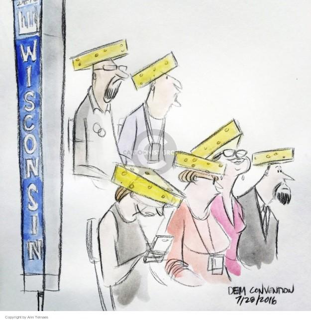 Ann Telnaes  Ann Telnaes' Editorial Cartoons 2016-07-29 2016 political convention