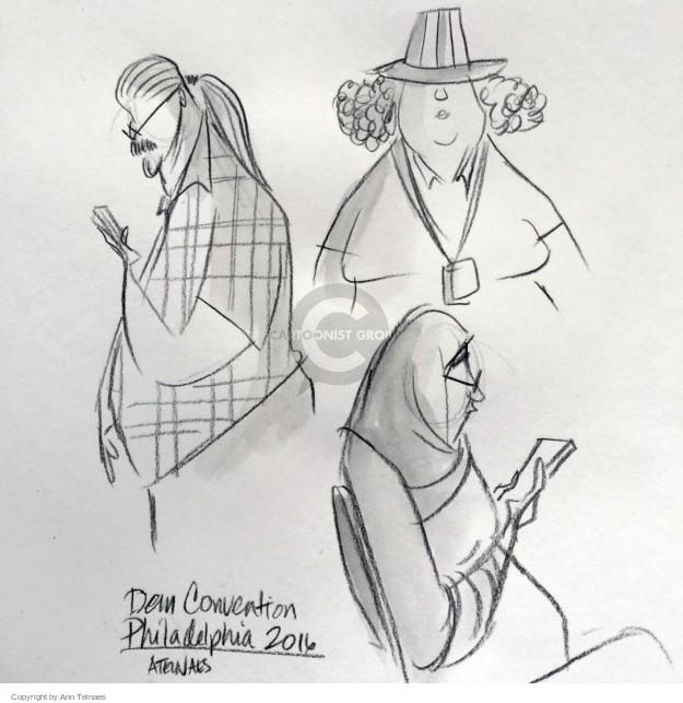 Ann Telnaes  Ann Telnaes' Editorial Cartoons 2016-07-29 Democratic National Committee