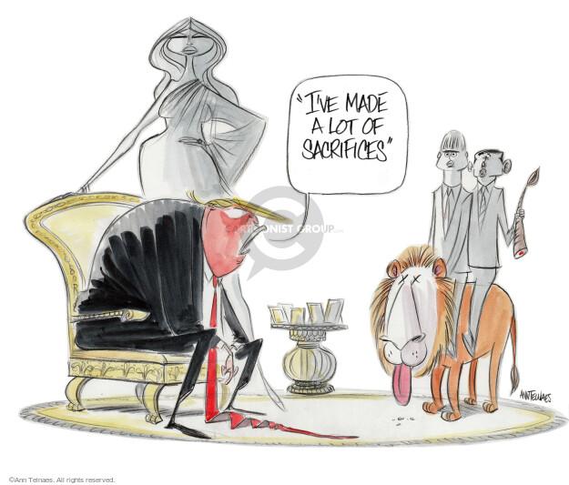 Ann Telnaes  Ann Telnaes' Editorial Cartoons 2016-08-03 2016 election